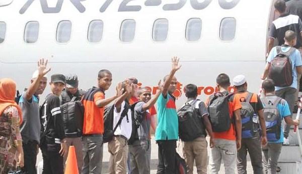 Belasan Imigran Bangladesh Dideportasi