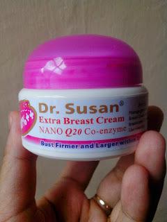 Cream Pembesar Payudara Alami Dr. Susan Extra Bust