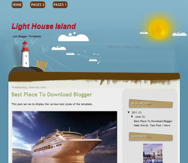 Light House Island  Lowongan kerja daerah 2017