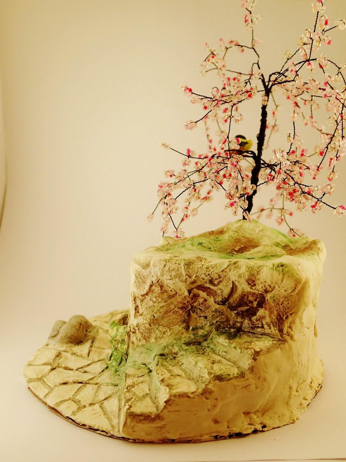 drzewo z koralików