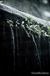 Air Hujan di Atas Atap
