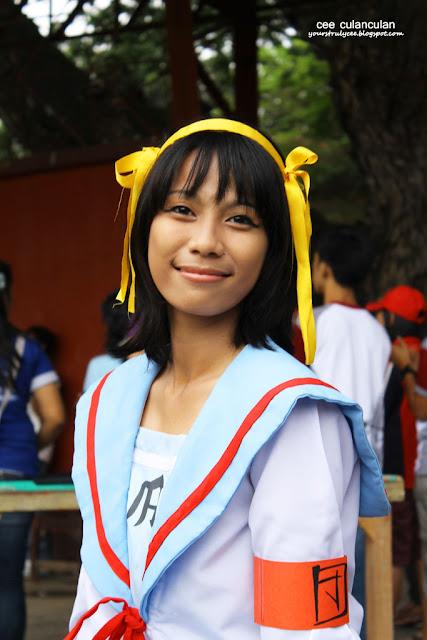 Zamboanga Cosplay - Haruhi Suzumiya- Cee Culanculan cosplay photography