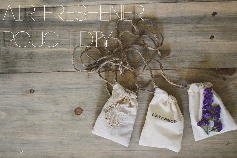 Air Freshener Pouch DIY