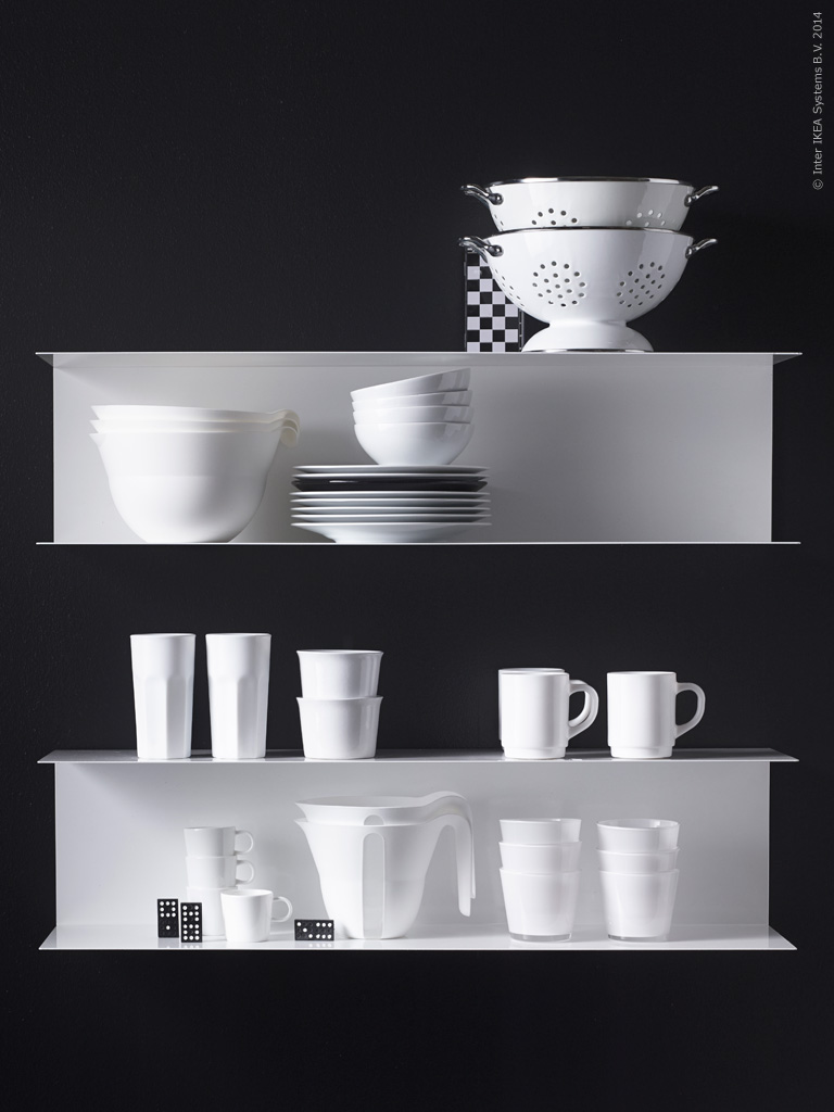 Design on a budget vipp vs ikea nordic days by flor linckens - Etagere invisible ikea ...