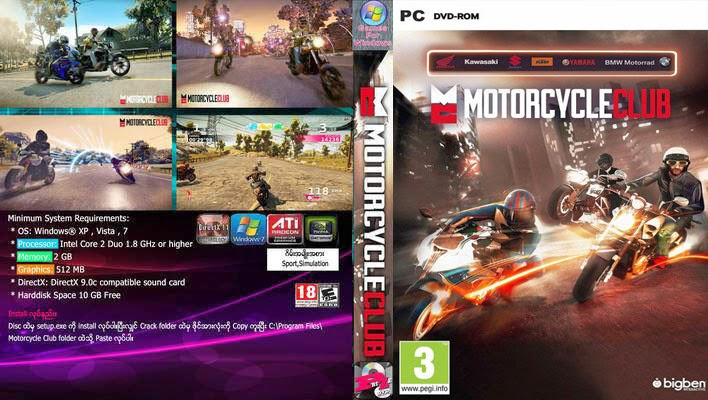Download Motorcycle Club PC FULL 2014 motorcycle club front cover 194100