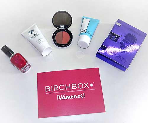 Cosmeticos Birchbox Junio 2015 Vamonos