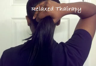 Looking for a way to quickly restore moisture to your hair without washing and deep conditioning? Baggying relaxed hair, increase hydration, stops breakage. relaxedthairapy.com