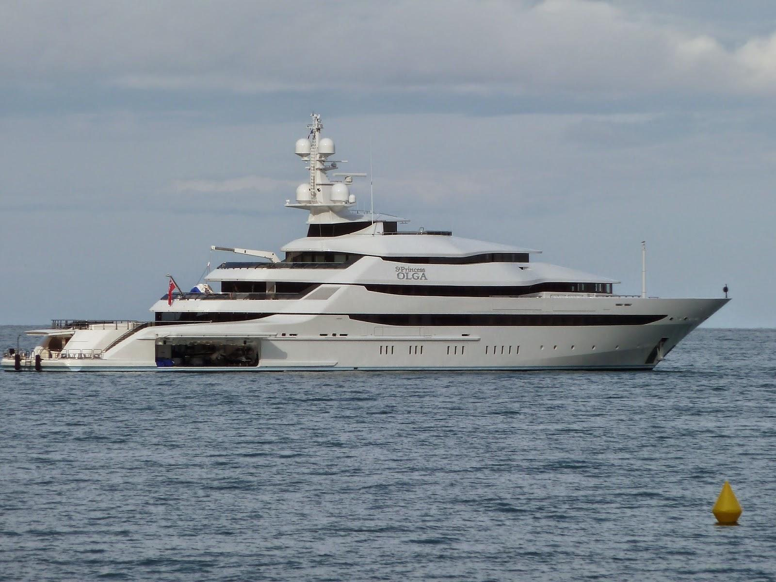 Megayacht ST. PRINCESS OLGA