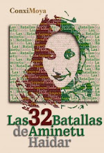 """LIBRO """"LAS TREINTA Y DOS BATALLAS DE AMINETU HAIDAR´´"""