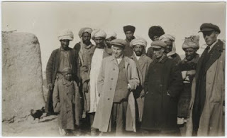 Arthur Koestler photographed by Langston Hughes in Turkestan