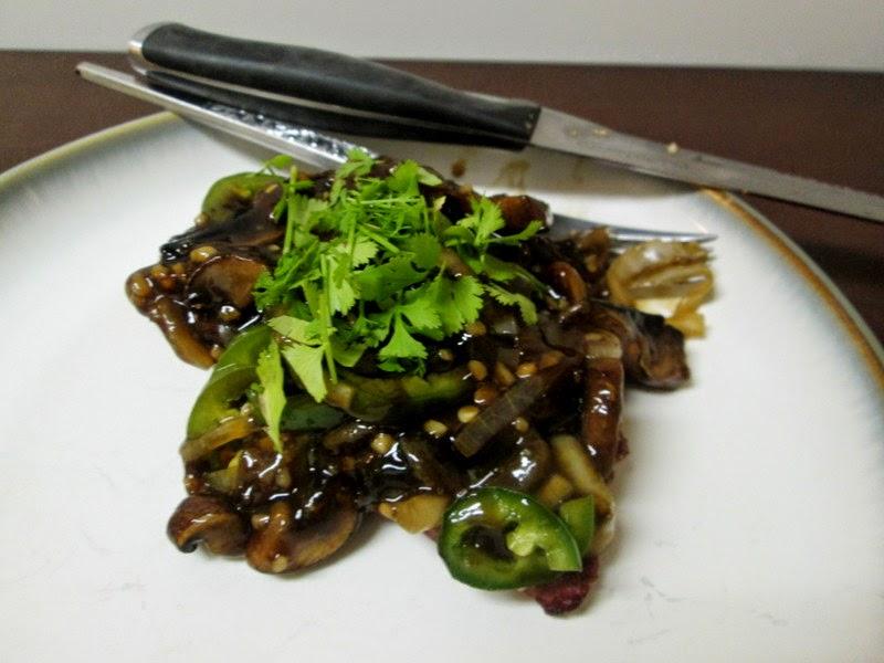 Mushroom Jalapeno Sauce