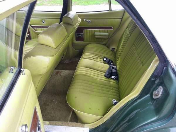 1973 Mercury Comet Sedan Original Survivor Auto