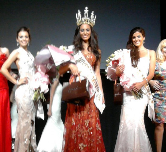 Miss Universe Argentina 2012 Camila Solorzano
