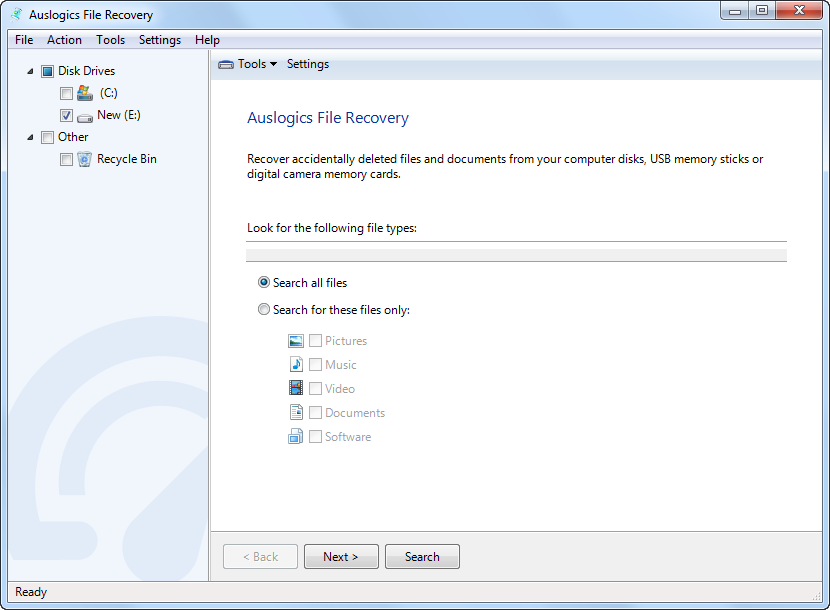 softwikia - Auslogics File Recovery 4.5.0.0