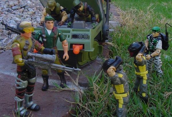 2002 Mirage, 2003, Hoverstrike Driver, Mega Marines, 2002 Convention Exclusive Paratrooper Dusty, havoc, 1989 Python Viper, Heavy Metal
