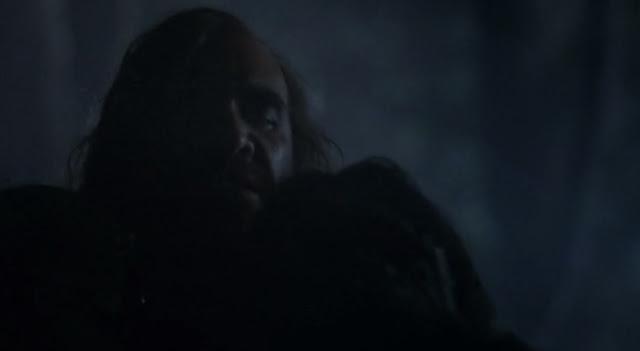 Sandor Clegane atrapa a Arya - Juego de Tronos en los siete reinos
