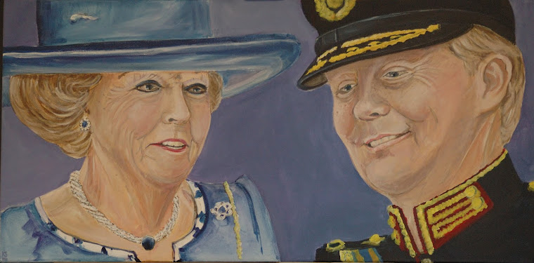 Beatrix en Willem Alexander