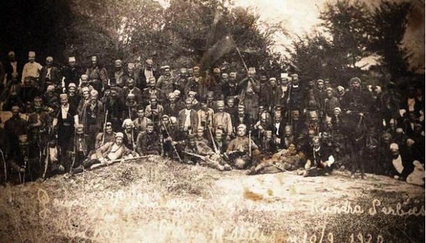 Albanian Volunteers fighting against Serbian army 1919-1920