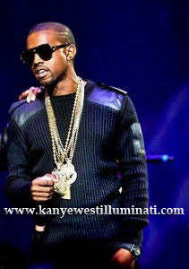 shades all black illuminati kanye west performance