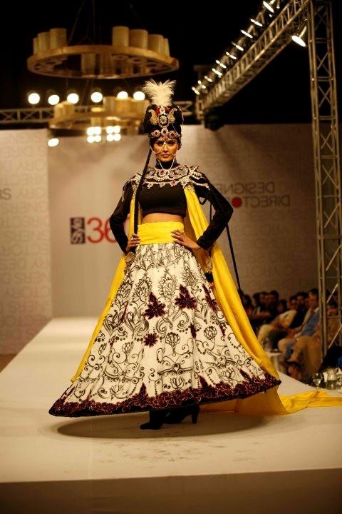 Ali Xeeshan Bridal Collection At Style360 Fashion Week 2011 Style360 Fashion Week Electrihot
