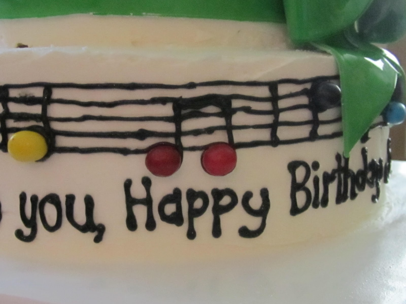 Frosted Insanity Happy Birthday Song Cake