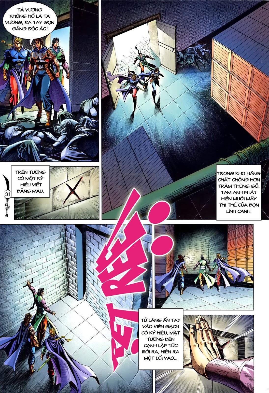 Đại Đường Song Long Truyện chap 216 - Trang 33