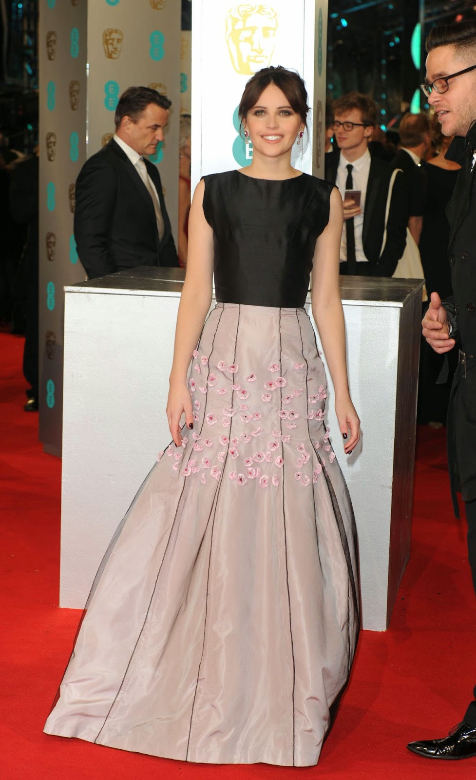 Felicity Jones – EE British Academy Film Awards 2015 in London