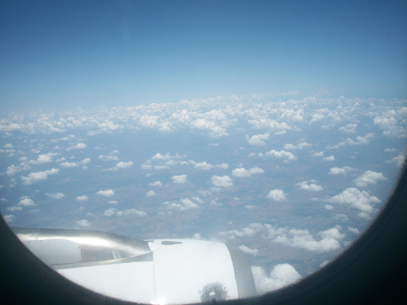 sky view from plane