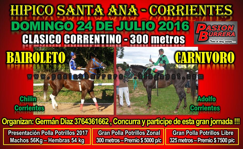 SANTA ANA - 24 DE JULIO