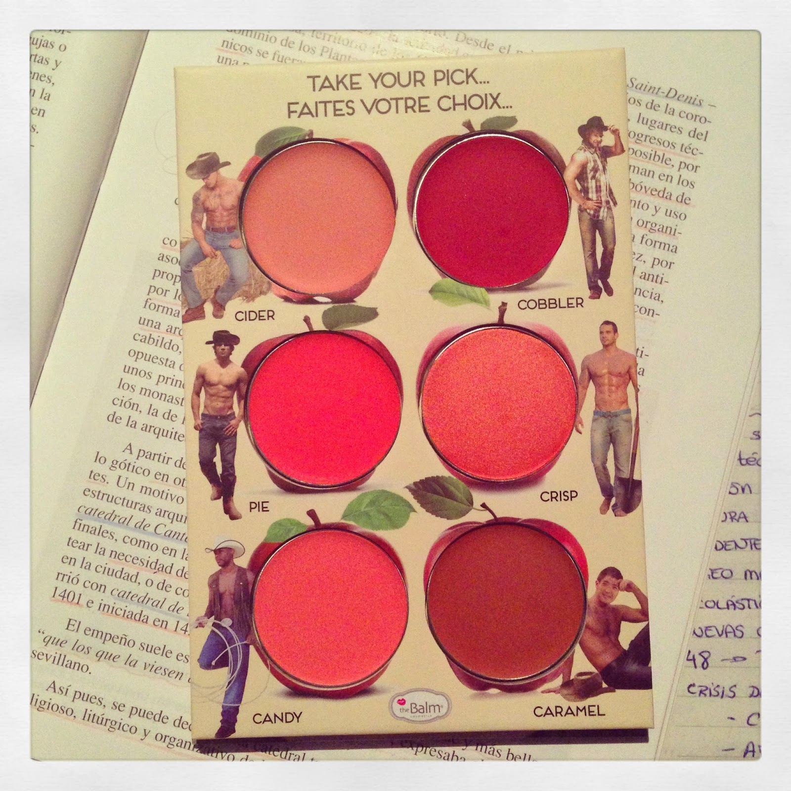 Tiente de labios y mejillas  Cheek & Lip Cream Palette