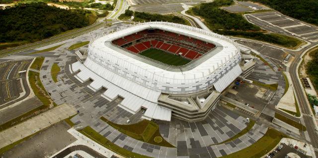 Arena Pernambuco pode ter sido superfaturada durante as obras para a Copa do Mundo (Foto: Divulgação)