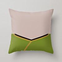 Captain James T Kirk Star Trek The Original Series Pillow