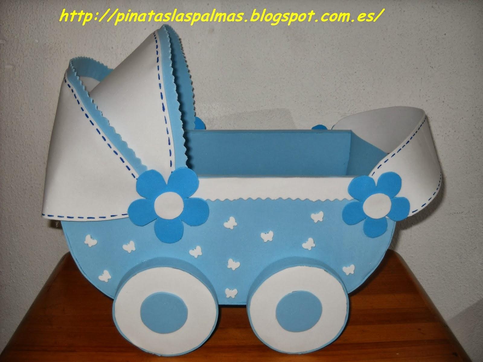El taller de pau cochecito de bebe hecho con goma eva for Decoracion habitacion bebe goma eva