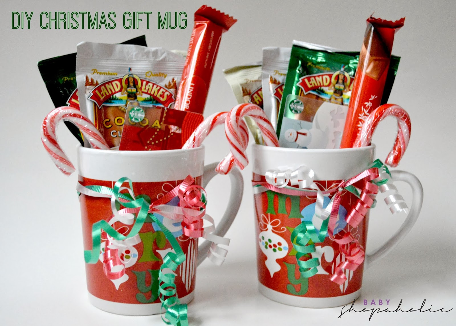Last minute diy christmas gift baby shopaholic for Homemade christmas gift baskets for couples