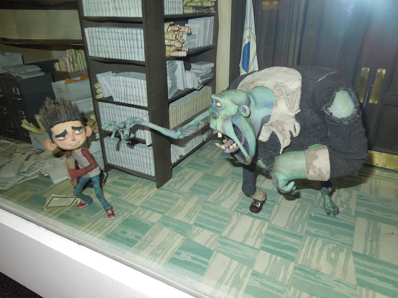 ParaNorman zombie stopmotion puppets