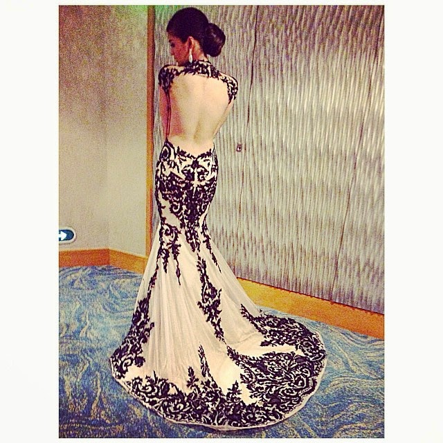 Kim Chiu wows in backless gown at 8th Star Magic Ball 2014 ...