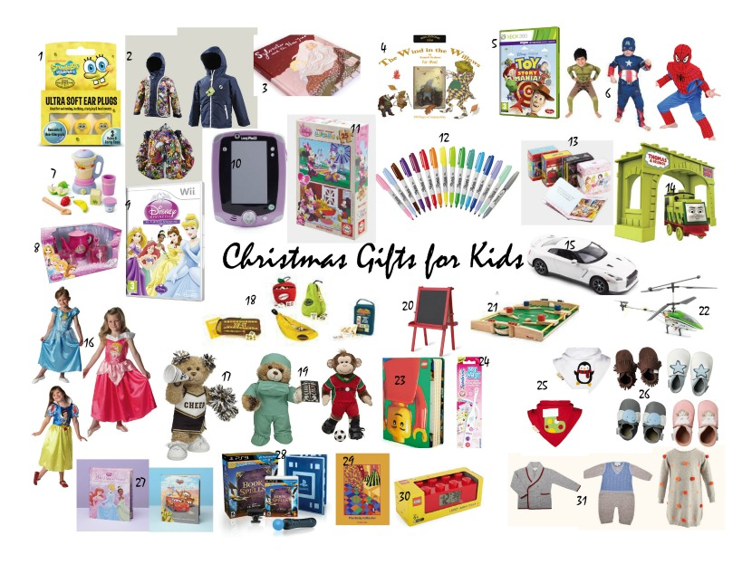 christmas shopping gifts for kids
