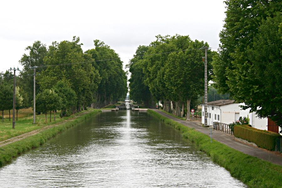 view along canal