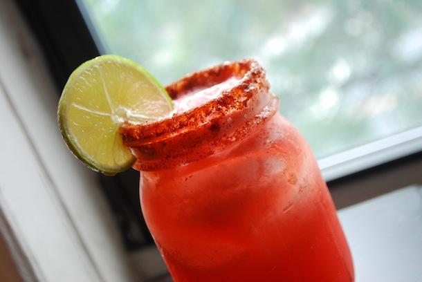 Spicy Watermelon Tequila Cocktails (No Added Sugar) | Always Order ...