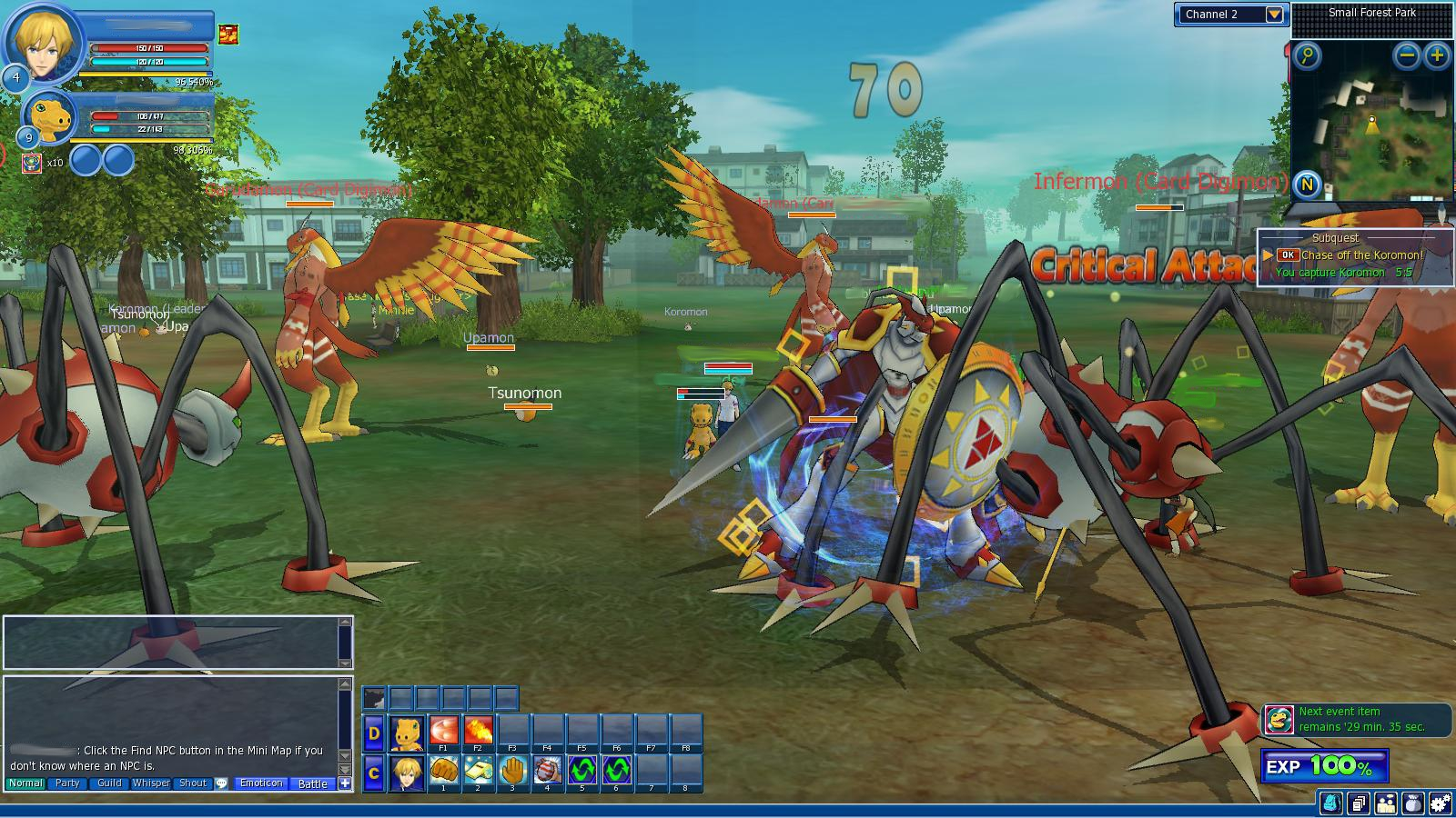 digimon masters online free pc game gametrender