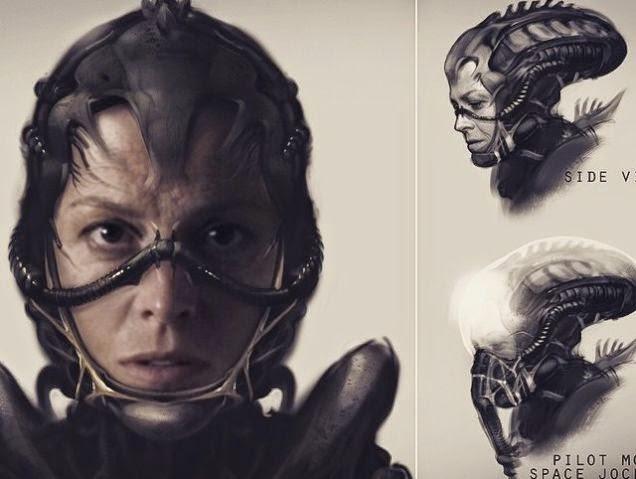 alien, neill blomkamp, sigourney waver, ripley, alien 5, el zorro con gafas