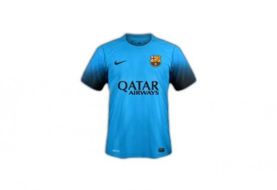 Suposta terceira camisa do Barcelona vazou nesta quarta-feira na internet