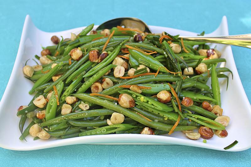 Haricot Verts and Sugar Snap Pea Salad | The Café Sucre Farine