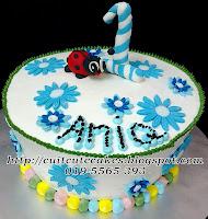 simple n cute cake