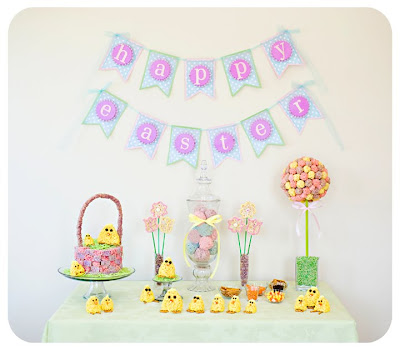 paper crafts for easter:  paper easter banner tutorial