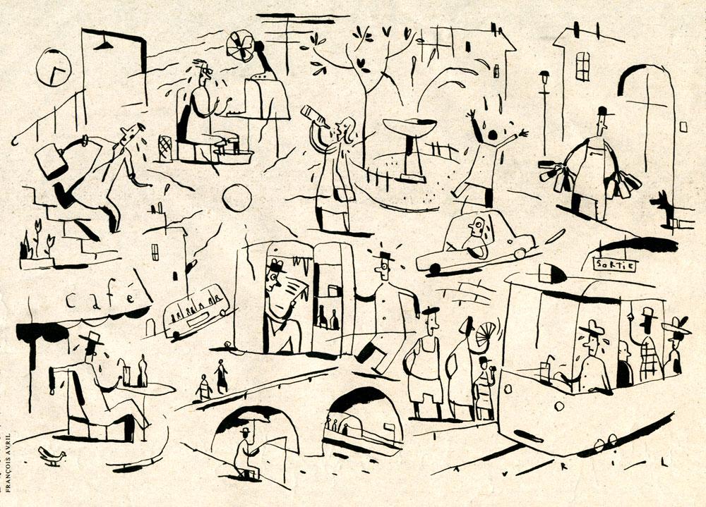 lib ration quand il fait trop chaud 19 juillet 1995 fran ois avril les passants d 39 avril. Black Bedroom Furniture Sets. Home Design Ideas