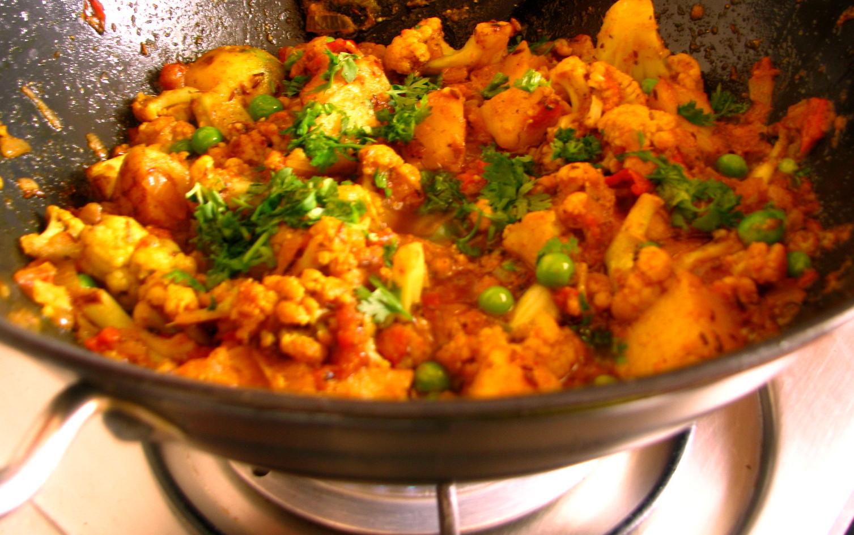 Aloo - Gobi(Cauliflower -Potato curry)