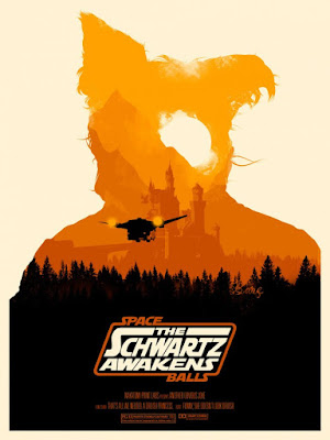 "Spaceballs ""The Schwartz Awakens"" Screen Print Series by Joshua Budich - ""Doesn't Look Druish"""