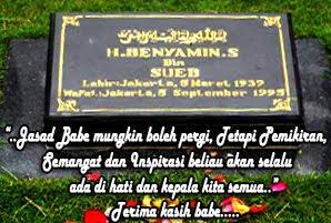 MAKAM  H. BENYAMIN SUEB