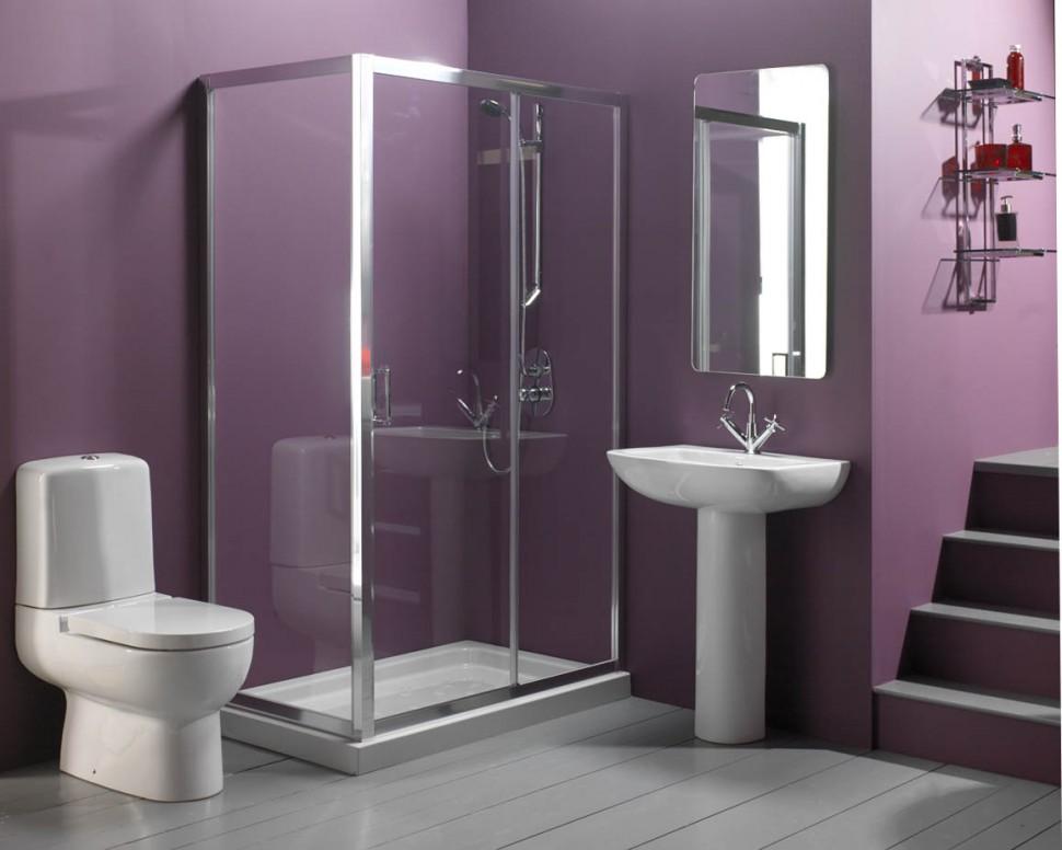 8 semplici trucchi per fare sembrare un bagno più grande ~ home ...
